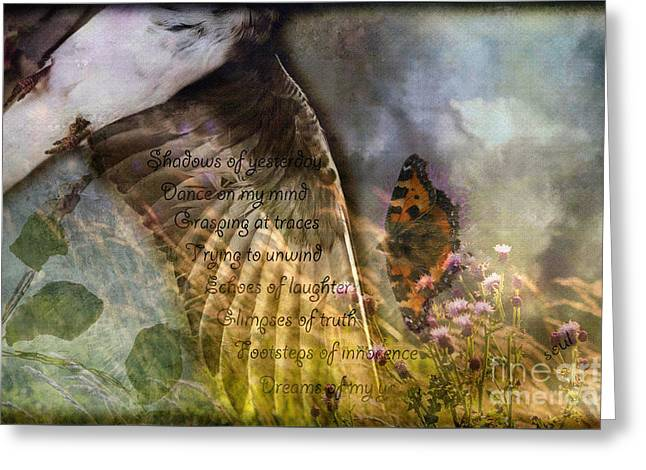 Shadows Of Yesterday Greeting Card