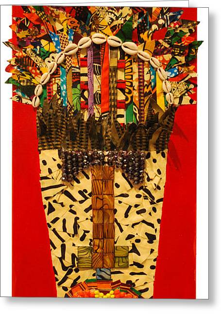 Shaka Zulu Greeting Card