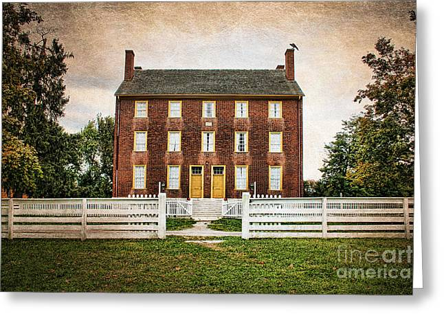 Shaker Village  Greeting Card by Darren Fisher