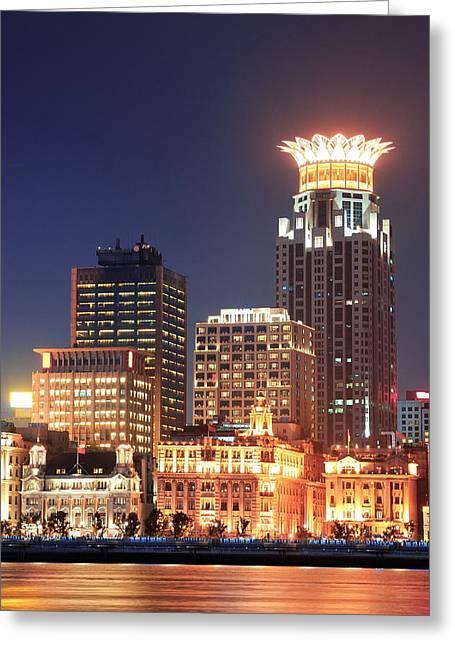 Shanghai Urban Architecture Greeting Card