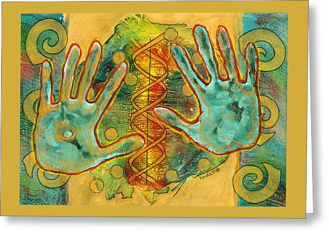 Shape Of Things Greeting Card by Lynda Hoffman-Snodgrass