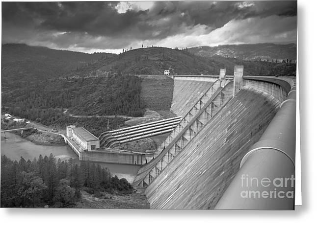 Shasta Lake Dam Greeting Card