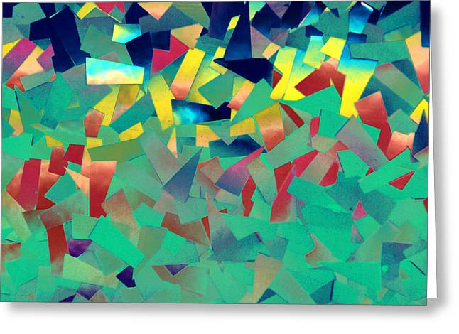 Shattered Color Greeting Card
