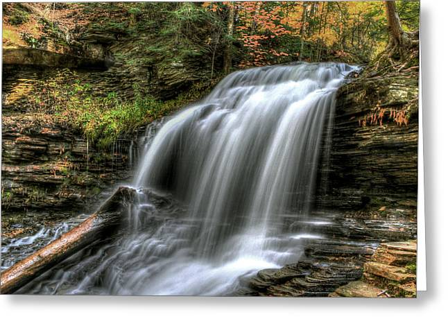 Shawnee Falls Greeting Card