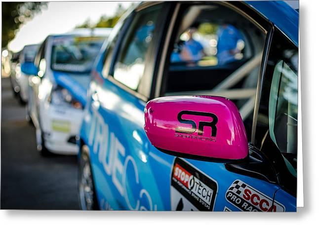 Shea Racing Greeting Card by David Morefield