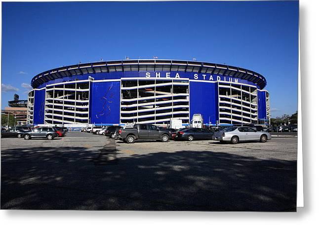 Shea Stadium - New York Mets Greeting Card