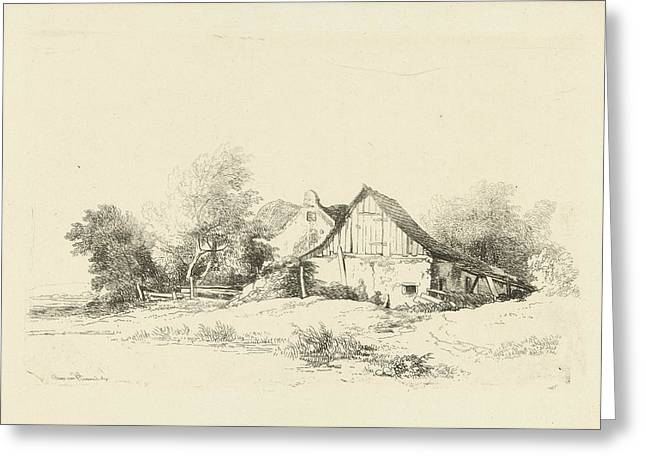 Shed On The Waterfront, Remigius Adrianus Haanen Greeting Card