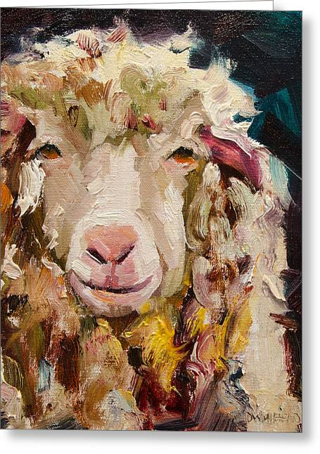 Sheep Alert Greeting Card