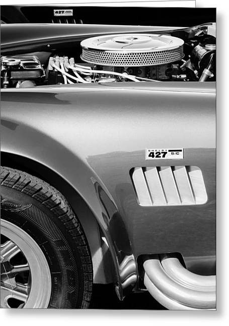 Shelby Cobra 427 Engine Greeting Card