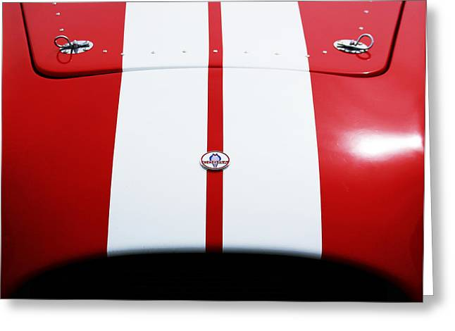 Shelby Cobra Greeting Card by Shelby Waltz