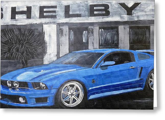 Shelby Mustang Greeting Card