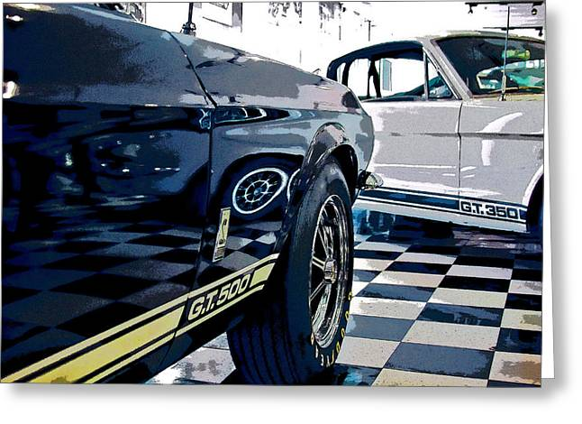 Shelby Mustangs Greeting Card