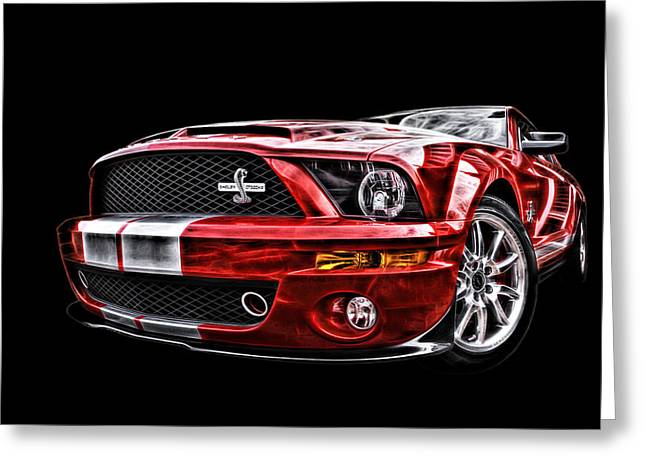 Shelby On Fire Greeting Card