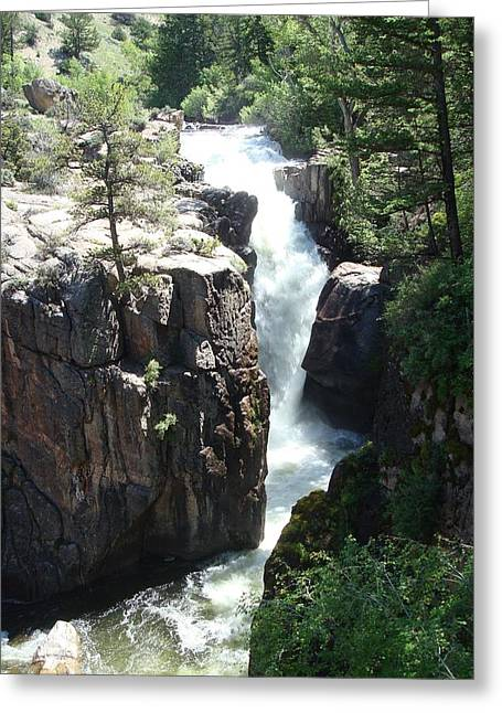 Shell Falls Greeting Card