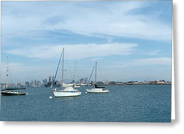 Shelter Island Panorama Greeting Card