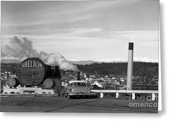 Shelton Washington Greeting Card