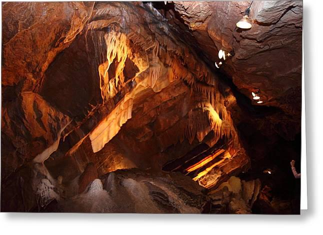 Shenandoah Caverns - 121222 Greeting Card by DC Photographer