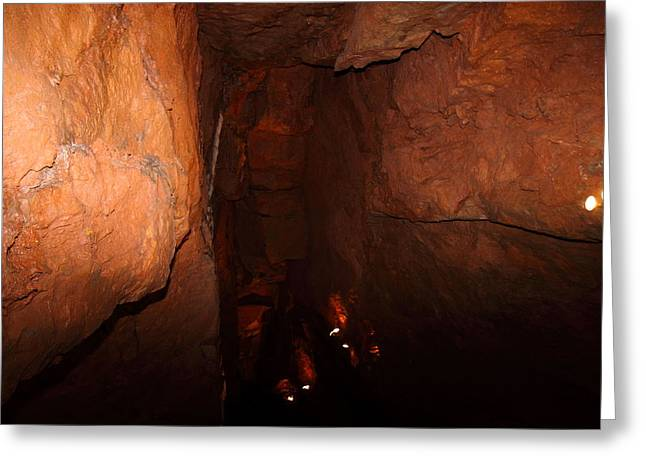 Shenandoah Caverns - 121228 Greeting Card by DC Photographer