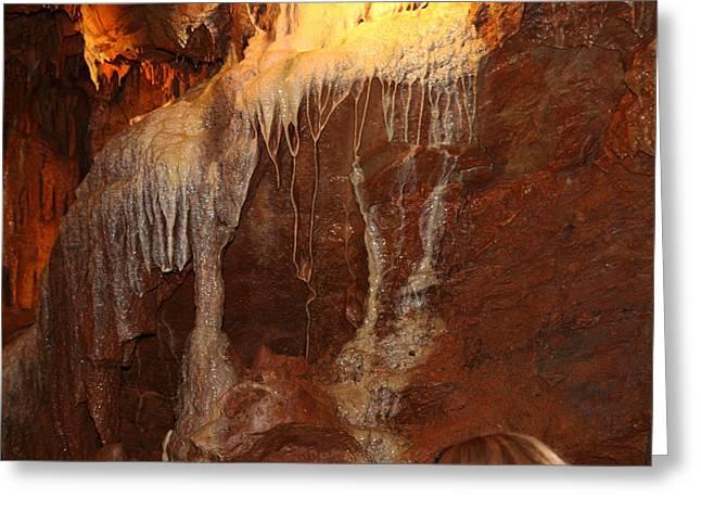 Shenandoah Caverns - 121231 Greeting Card