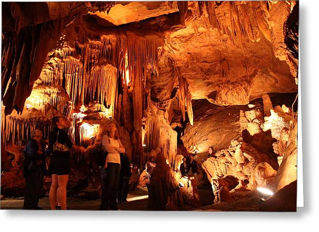Shenandoah Caverns - 121261 Greeting Card by DC Photographer