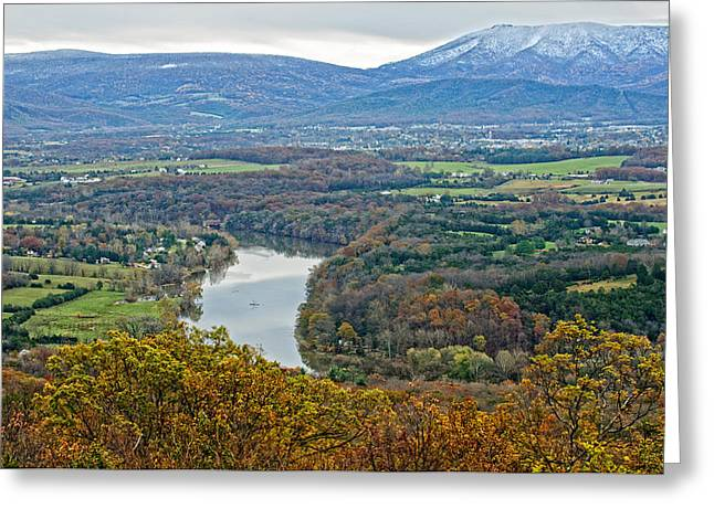 Shenandoah Fall And Winter Greeting Card