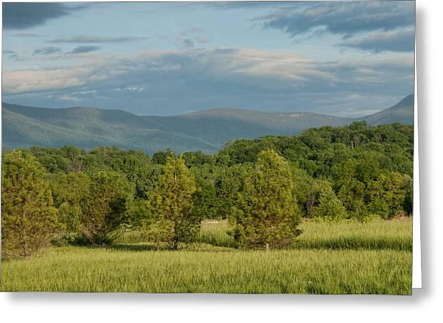 Shenandoah Valley May View Greeting Card by Lara Ellis