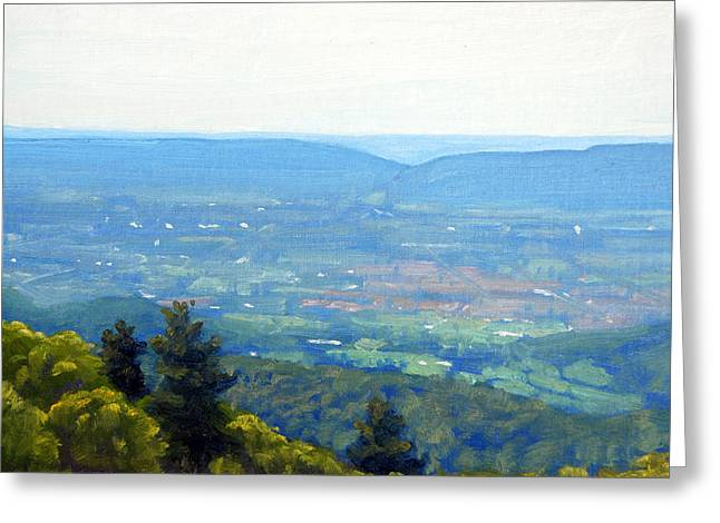 Shenandoah Valley Overlook Greeting Card