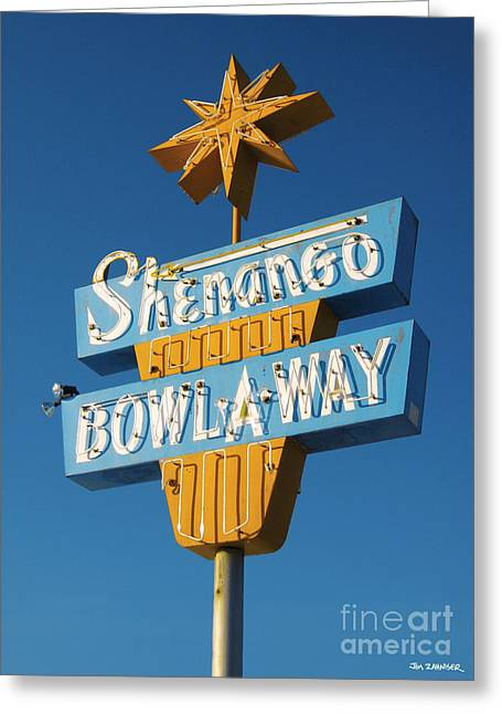 Shenango Bowl-a-way Greeting Card