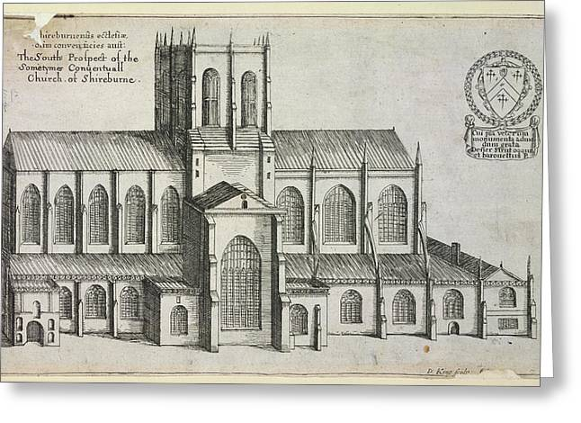 Sherborne Abbey Greeting Card by British Library