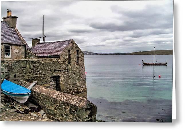 Shetland Lodberry Greeting Card by Lynn Bolt