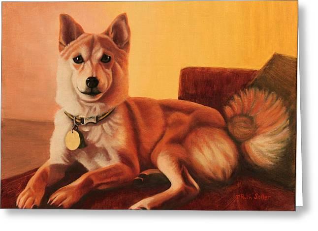 Shiba Inu Portrait Greeting Card