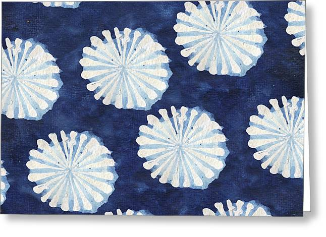 Shibori IIi Greeting Card by Elizabeth Medley
