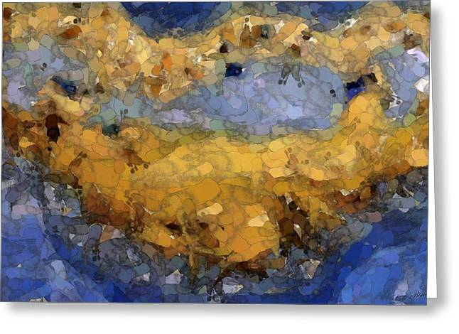 Shifting Sand Greeting Card by Cole Black