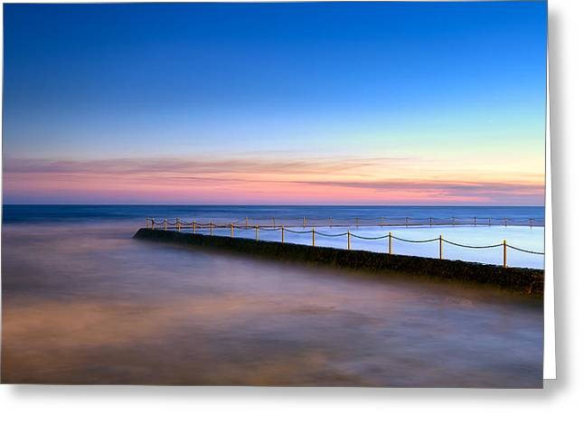 Shimmer In The Dawn Greeting Card by Mark Lucey