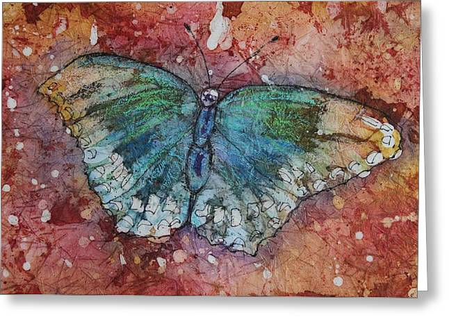 Shimmer Wings Greeting Card