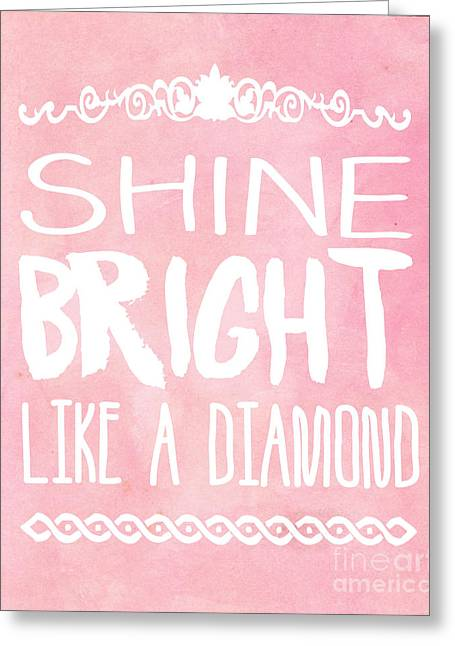 Shine Bright Greeting Card by Pati Photography