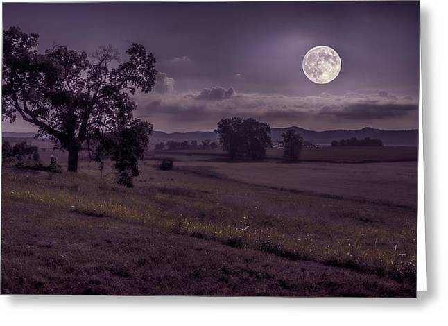 Shine On Harvest Moon Greeting Card