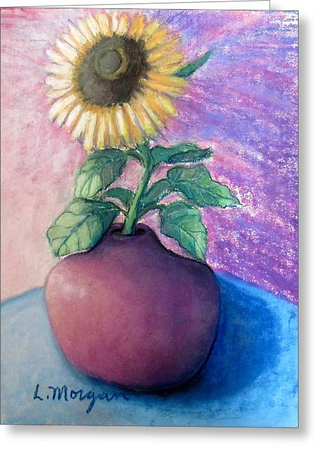 Shine On Me Greeting Card by Laurie Morgan