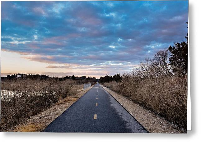 Shining Sea Bikeway Greeting Card