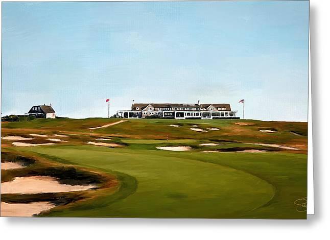 Shinnecock Hills Golf Club Greeting Card