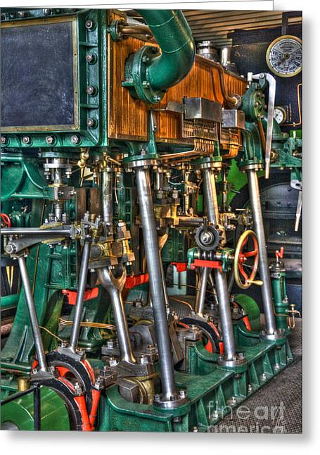 Ship Engine Greeting Card