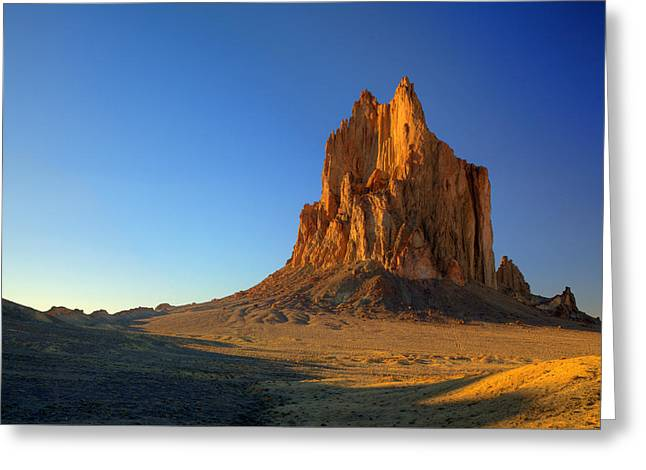 Shiprock Sunset Greeting Card