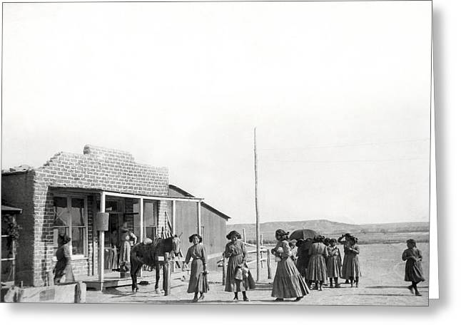 Shiprock Trading Post Greeting Card