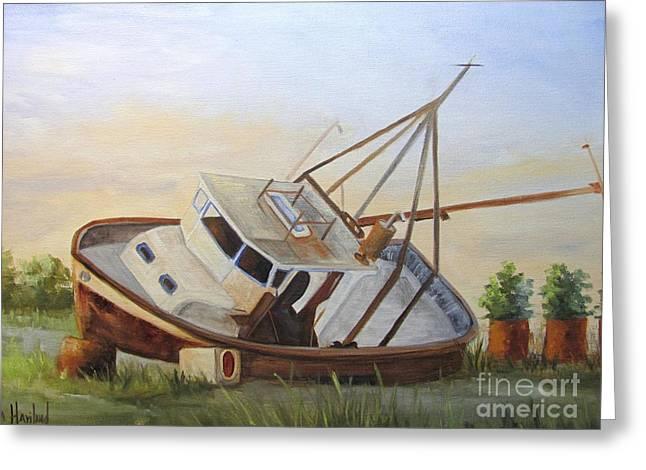 Shipwrecked Ike II Greeting Card