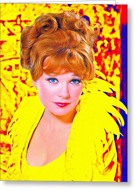 Shirley Maclaine In What A Way To Go Greeting Card by Art Cinema Gallery