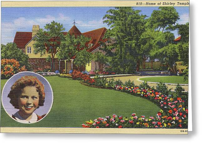 Shirley Temple (1928 - 2014)  Home Greeting Card