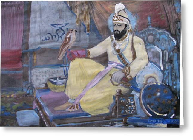 Guru Gobind Singh Greeting Card