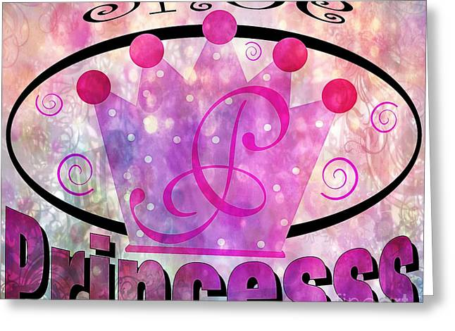 Shoe Princess Greeting Card by Daryl Macintyre