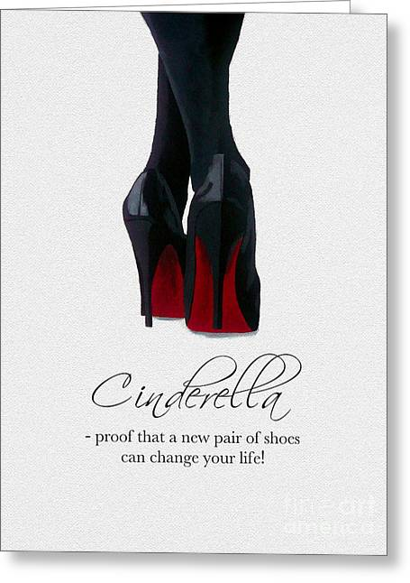 Shoes Can Change Your Life Greeting Card
