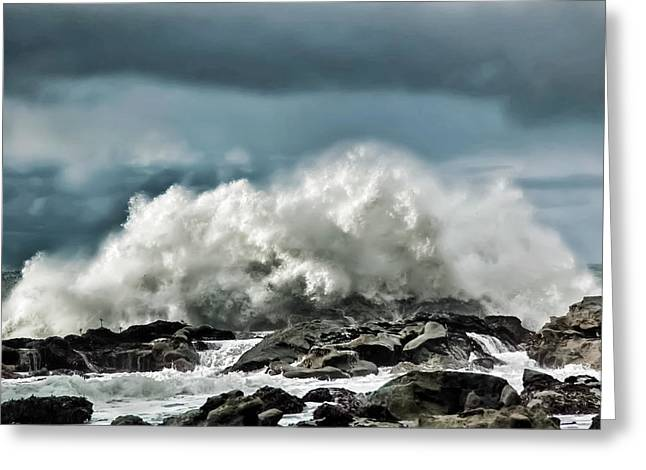 Shore Acres 11 Greeting Card by Kenneth Haley